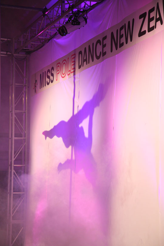 Photo of the new zealand pole dance competition 2009