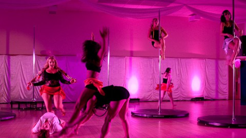 GRIP: a charity pole showcase