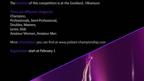 International & Dutch Pole-Arts Championships 2015 (Advert)