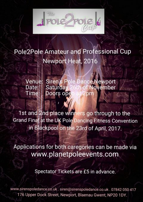 Pole2Pole Amateur & Professional Cup 2016 Newport Heat